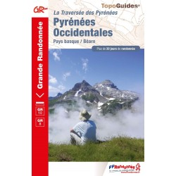 Topo-guide du GR10 - Pyrénées Occidentales